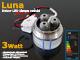 Optonica LED dekor lámpatest Luna süllyeszthető (3W) hideg fényű