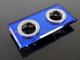 Kanlux Üveges - tükrös dekor lámpatest: Morta CT-DSL250-BL Kék