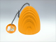 V-TAC Prism modern csillár (E27) sárga - kúp forma