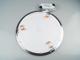 V-TAC Króm LED panel (kör alakú) 24W - természetes fehér