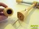Függöny Center Vento 20 mm fém, Bükk vékony tartóval, egysoros, 160 cm