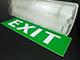 Total Green LED vészvilágító lámpatest (IP65) 2W EXIT