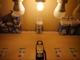 V-TAC E27 LED izzó Vintage filament (4W/300°) Kisgömb - extra meleg fehér
