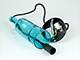 V-TAC Bottle palack üveg csillár (E14) - kék színű bura