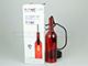 V-TAC Bottle palack üveg csillár (E14) - piros színű bura