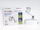 V-TAC S-Single oldalfali spot LED lámpatest (4.5W) fehér, meleg f.