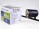 V-TAC R-Trio mennyezeti spot LED lámpatest (3x6W) fekete, meleg f.