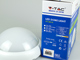 V-TAC Dome-R IP54 kültéri LED lámpa - fehér (8W) 3000K