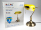 V-TAC Banker asztali lámpa (E27) sárga