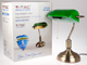 V-TAC Banker asztali lámpa (E27) zöld