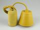 V-TAC Ceso beton lámpafoglalat (E27) színes kábellel - bézs