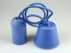 V-TAC Ceso beton lámpafoglalat (E27) színes kábellel - kék
