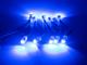 V-TAC LED modul 0.24W (5050x1/120°/IP68) - Kék