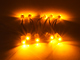 V-TAC LED modul 0.24W (5050x1/120°/IP68) - Sárga