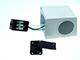 V-TAC Biancolight Simple-2 kültéri oldalfali lámpa IP44 (GU10)