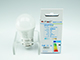V-TAC E27 LED lámpa (5.5W/180°) Kisgömb - meleg fehér