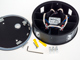 V-TAC 4-Sides-R oldalfali LED lámpatest, fekete (4W) természetes feh.