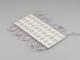V-TAC LED modul 1.5W (2835x3/150°/IP67) - 3000K meleg fehér