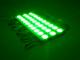 LED modul 1.5W (2835x3/150°/IP67) - Zöld