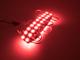 V-TAC LED modul 1.44W (2835x4/150°/IP68) - Piros