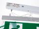 Fast Charge LED vészjelző falon kívüli, függesztődróttal (2W)