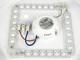 V-TAC BL Stars mennyezeti LED lámpa - fehér (12W) - természetes f.