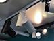 V-TAC Simple Pro sínes LED lámpa, fekete - 30W (24°) meleg fehér