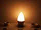 V-TAC LED lámpa E14 (7W/200°) Gyertya - meleg fehér, PRO Samsung