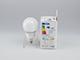 V-TAC LED lámpa E14 (9W/200°) Körte - hideg fehér - Samsung