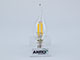 V-TAC LED lámpa E14 Filament (4W/300°) Láng - meleg fehér, Samsung