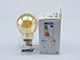 V-TAC E27 LED izzó Vintage filament (6W/300°) Körte - extra meleg f., PRO Samsung