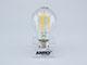V-TAC E27 LED izzó Retro filament (6W/300°) Körte - meleg fehér, PRO Samsung