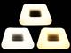 V-TAC Designer LED lámpatest Kvat-I (30cm/26W) távirányítható szín és fényerő