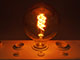 V-TAC E27 LED izzó Vintage filament (6W/300°) G125 Spirál - extra meleg f.