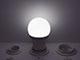 V-TAC LED lámpa E27 (11W/200°) Körte - hideg fehér