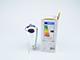 V-TAC Tűzijáték 3D effekt LED lámpa, E27 filament 3W(25lm/300°) - meleg fehér