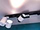 V-TAC Stripe Pro sínes LED lámpa - 10W (24°) meleg fehér
