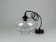 V-TAC Proda üveg burás csillár (E27) - átlátszó színű bura