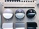 V-TAC StepLight-L LED lépcsővilágító - kör, fehér (3W) meleg fehér