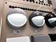 V-TAC StepLight-L LED lépcsővilágító - kör, fekete (3W) természetes fehér Kifutó!