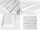 WallArt 3D 3D Falpanel - Bricks (tégla mintás) - WallArt