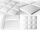 WallArt 3D Falpanel - Cubes (kockák) - WallArt