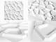 WallArt 3D 3D Falpanel - Gaps (lyukacsos) - WallArt