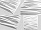 WallArt 3D Falpanel - Valeria (perem) - WallArt