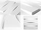WallArt 3D 3D Falpanel - Vaults (boltozatos) - WallArt