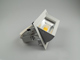 V-TAC Zoom Fitting mélysugárzó, négyzet, 30W - természetes fehér