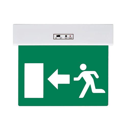 LED kijáratjelző lámpatest oldalra mutató nyíllal - fehér