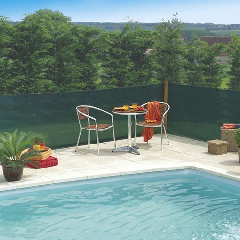Szőtt árnyékoló háló 80%-os takarás, EXTRANET (1.5x50 méter) zöld