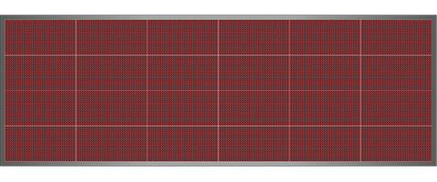 ledtech vil g t led rekl mt bla f ny js g usb p10 piros 64x192 cm r 199 680 ft. Black Bedroom Furniture Sets. Home Design Ideas