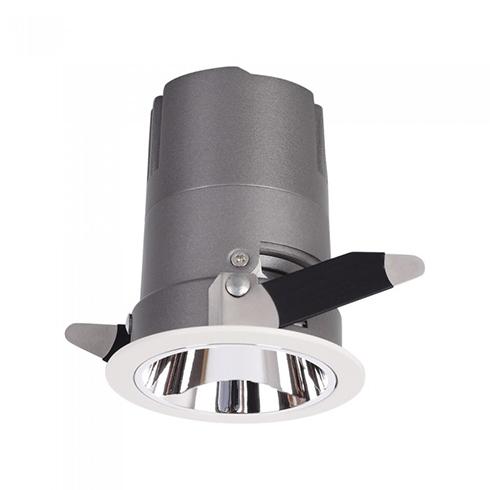 Mélysugárzó LED lámpa 15 Watt (CRI>95 - UGR<19) változtatható sugárzási szög, természetes fényű